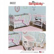 8622 Simplicity Pattern: Nursery Decor Items